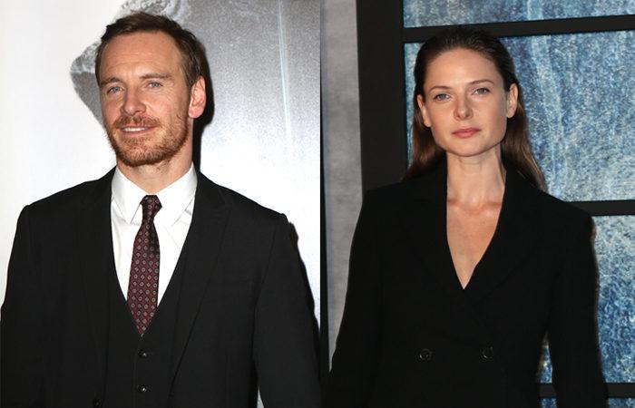 마이클 패스벤더와 레베카 퍼거슨이 <스노우맨>에서 탐정 역할을 맡아 사건을 파헤친다. ⓒ TOPIC / Splash News