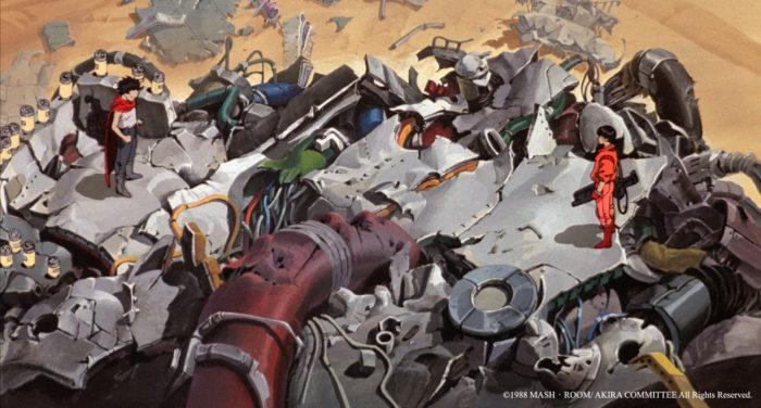 <아키라>는 1986년 제작 당시 일본 애니메이션 영화 사상 최고 금액인 제작비 10억 원이 투입되었고, 8개 애니메이션 회사가 모인 최대 프로젝트였다. 사진 삼지애니메이션