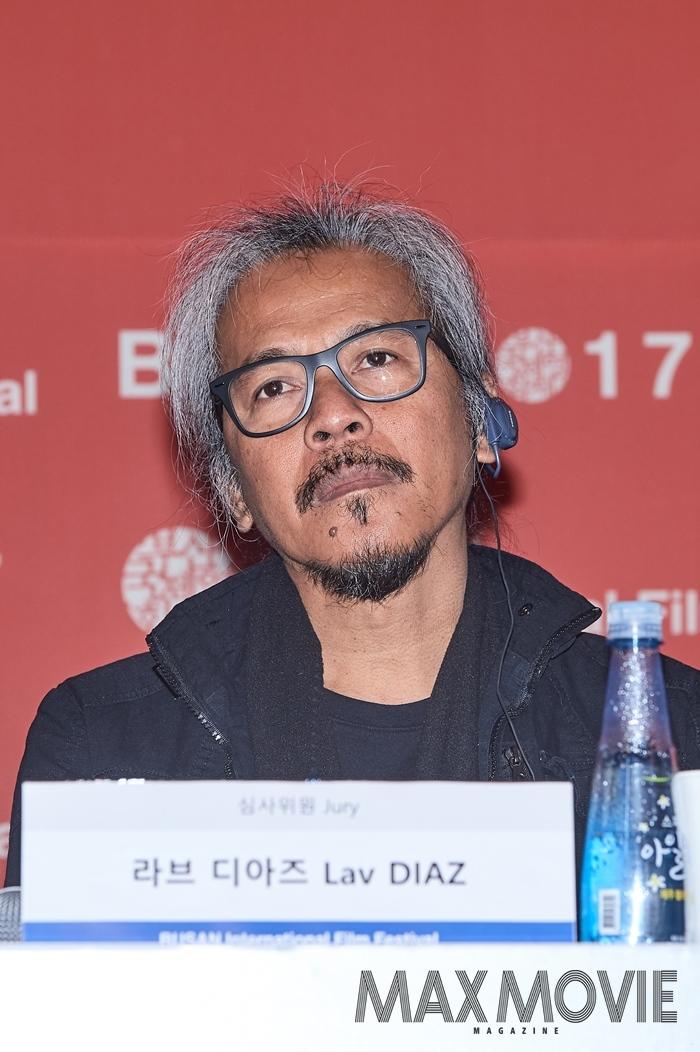 """라브 디아즈 감독은 """"BIFF는 아시아에서 가장 큰 영화제""""라며, 동아시아 최대 시네마 축제의 장을 지켜야 한다고 말했다. ⓒ맥스무비 김소연 (에이전시 테오)"""