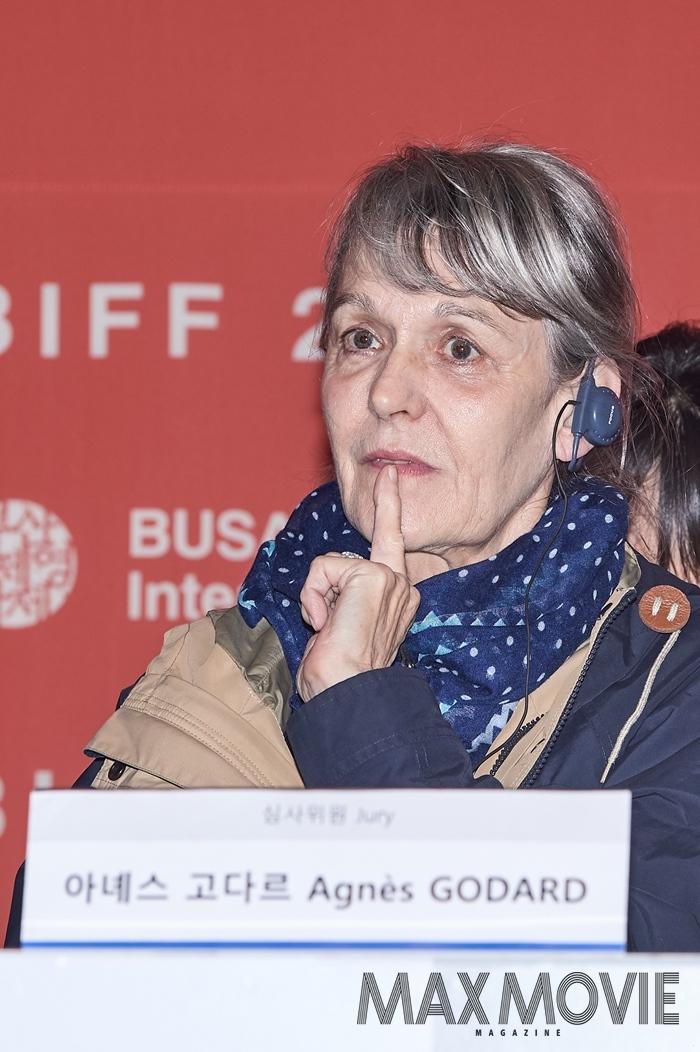 아녜스 고다르 촬영감독은 외압 논란으로 진통을 겪고 있는 BIFF를 지탱하고 있는 건 영화를 사랑하는 관객이라고 말했다. ⓒ맥스무비 김소연 (에이전시 테오)
