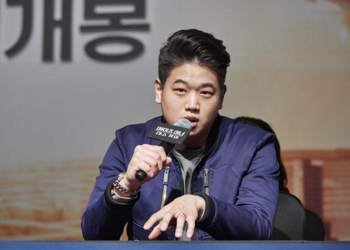 이기홍은 <메이즈 러너> 시리즈에서 남다른 기억력과 체력으로 러너들을 이끌던 민호 역을 연기했다. 그는 최근 한국 영화 <특별시민>(2017)에도 출연하기도 했다. 사진 이십세기폭스 코리아