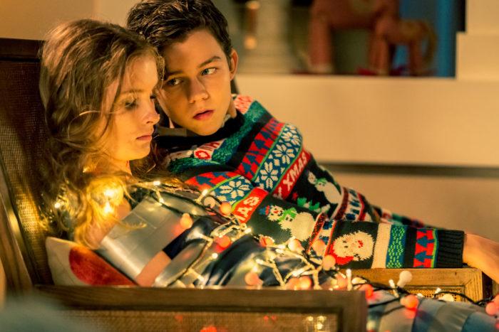 '베러 와치 아웃'은 크리스마스이브에 12살 사이코패스 루크(리바이 밀러)가 벌이는 잔혹극이다. 사진 (주)스톰픽쳐스코리아