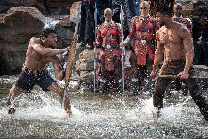'블랙 팬서'는 '캡틴 아메리카: 시빌 워'(2016)에서 첫 등장했던 블랙 팬서(채드윅 보스만)의 솔로무비다. 사진 월트디즈니 컴퍼니 코리아
