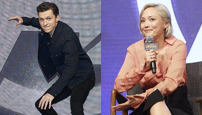 한국이 비교적 친숙한 톰 홀랜드와 폼 클레멘티프는 서로 농담을 주고받으며 기자회견을 화기애애하게 만들었다. 사진 월트디즈니컴퍼니 코리아