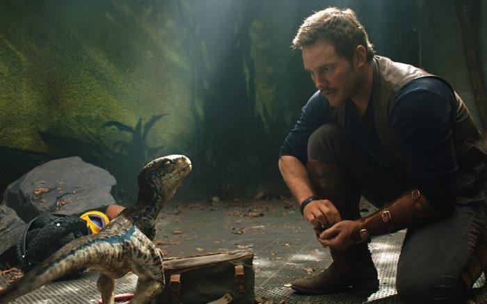 벨로스랩터인 블루는 오웬과 함께 성장하면서 유대감을 쌓은 공룡이다. UPI 코리아