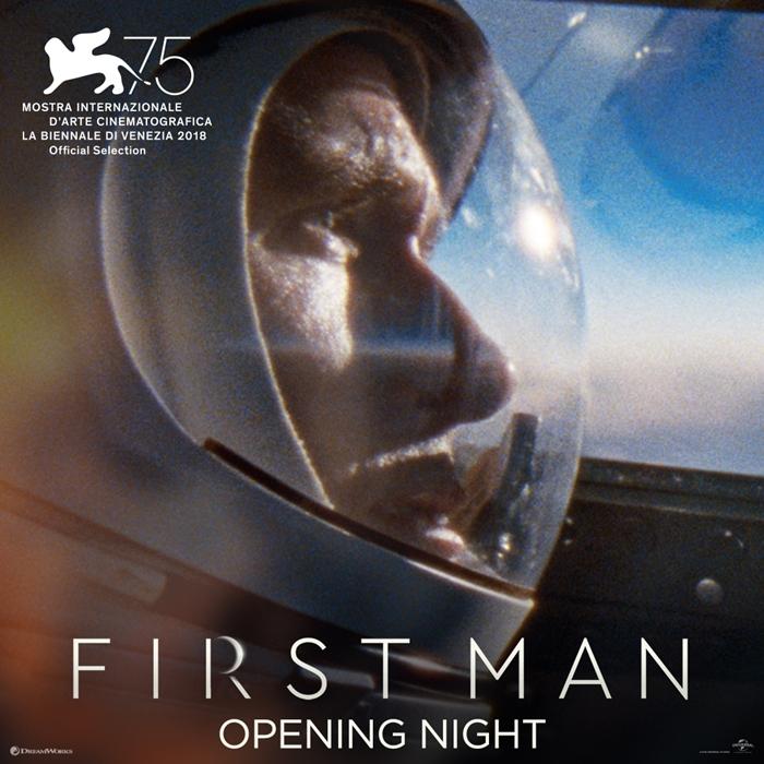 '퍼스트 맨'은 SF 영화로는 '그래비티'(2013) 이후 5년 만에 베니스국제영화제의 개막작으로 선정됐다. 사진 UPI