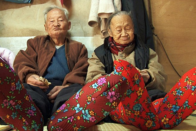 무려 78년 동안 함께난 이종수 할아버지와 김순규 할머니의 애틋한 일상을 따뜻하게 담아낸 최정우 감독의 첫 장편영화다. 사진 인디스토리