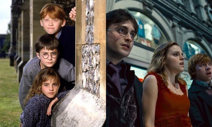 다니엘 래드클리프와 루퍼트 그린트, 엠마 왓슨 외 '해리포터' 시리즈의 배우들은 10년이 넘는 시간동안 영화를 촬영하며 함께 성장했다. 사진 워너브러더스 코리아
