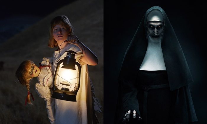 '컨저링' 유니버스의 영화들은 장소 또는 물체에 깃든 악령과 그를 퇴치하기 위한 퇴마 의식을 소재로 한다. 사진 워너브러더스 코리아