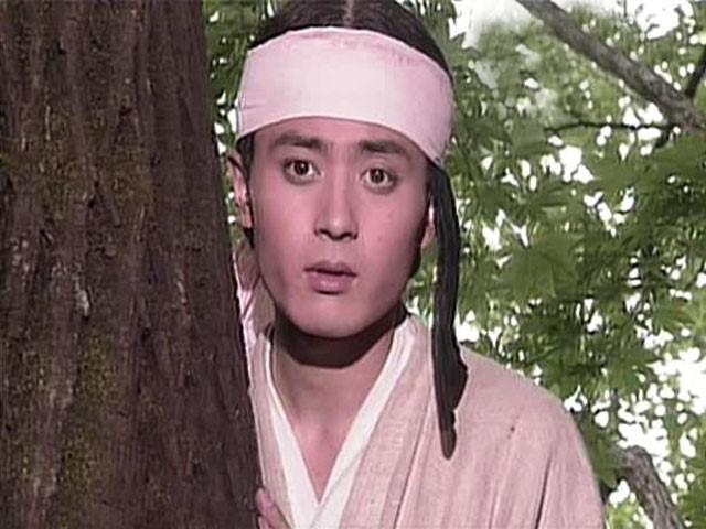 MBC 공채 탤런트 시절 '일지매'에 출연한 장동건. 사진 MBC