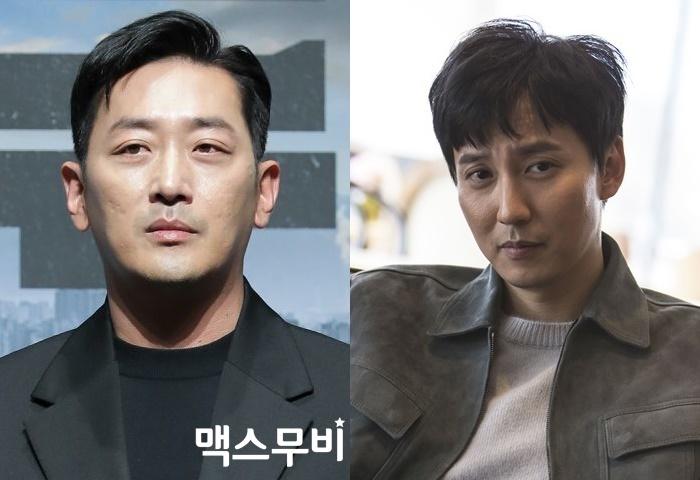 배우 하정우, 김남길(왼쪽부터). 사진 맥스무비DB, NEW