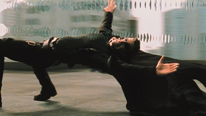 영화 '매트릭스' 스틸. 사진 워너 브러더스 코리아㈜