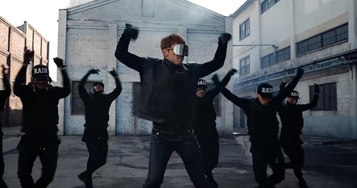 비 '깡' 뮤직비디오. 사진 레인컴퍼니