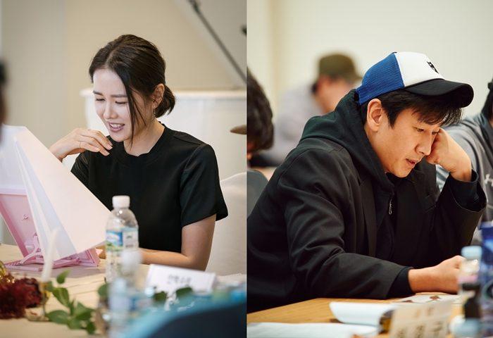 배우 손예진, 이선균. 사진 CJ 엔터테인먼트, 메가박스중앙(주)플러스엠