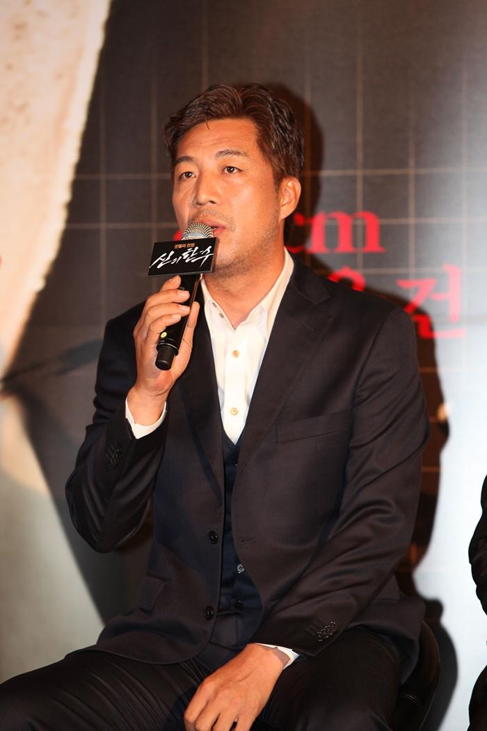 배우 안길강. 사진 (주)쇼박스