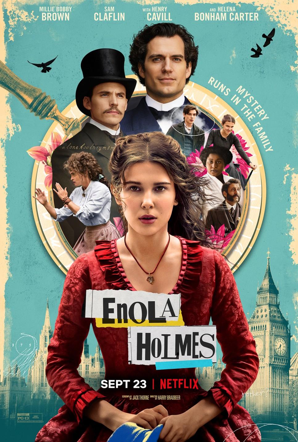 영화 '에놀라 홈즈' 포스터. 사진 넷플릭스