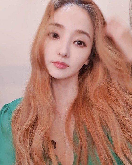 배우 한채영. 사진 한채영 인스타그램