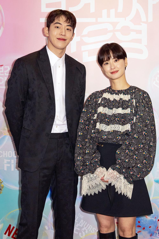 넷플릭스 '보건교사 안은영' 출연 배우 남주혁, 정유미