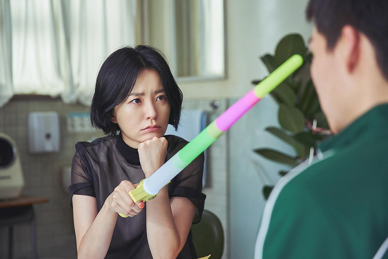 넷플릭스 '보건교사 안은영' 스틸. 사진 넷플릭스