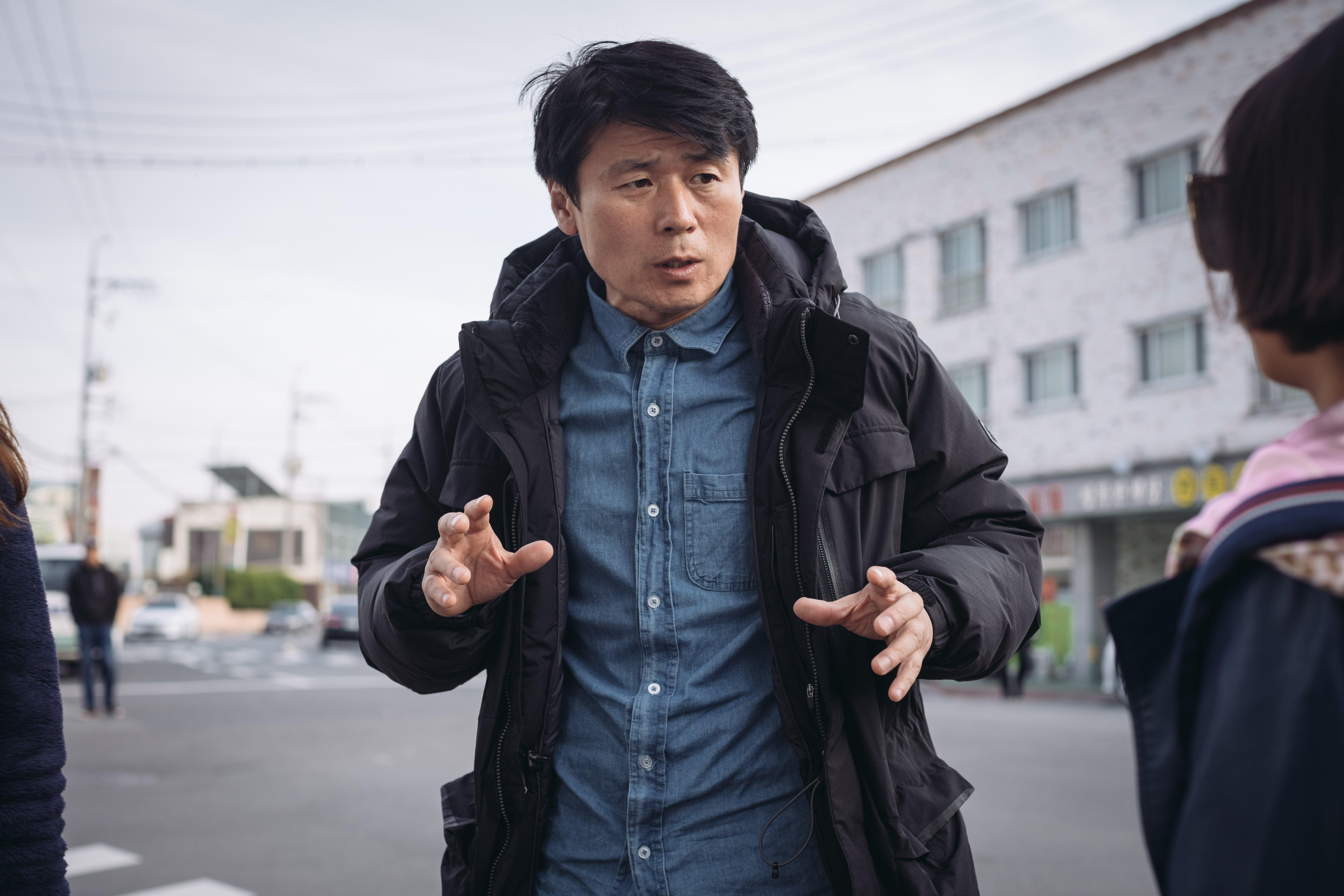 영화 '돌멩이' 김정식 감독. 사진 리틀빅픽처스
