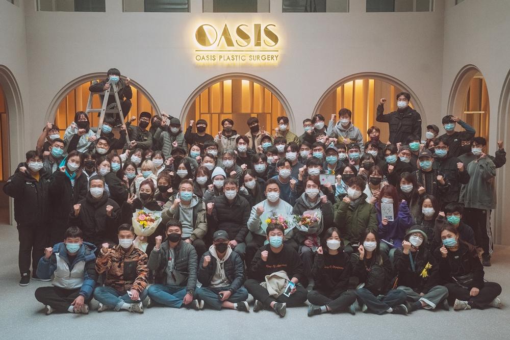 영화 '압구정 리포트' 촬영 현장. 사진 쇼박스